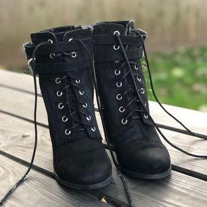 Steve Madden size 8 black heels